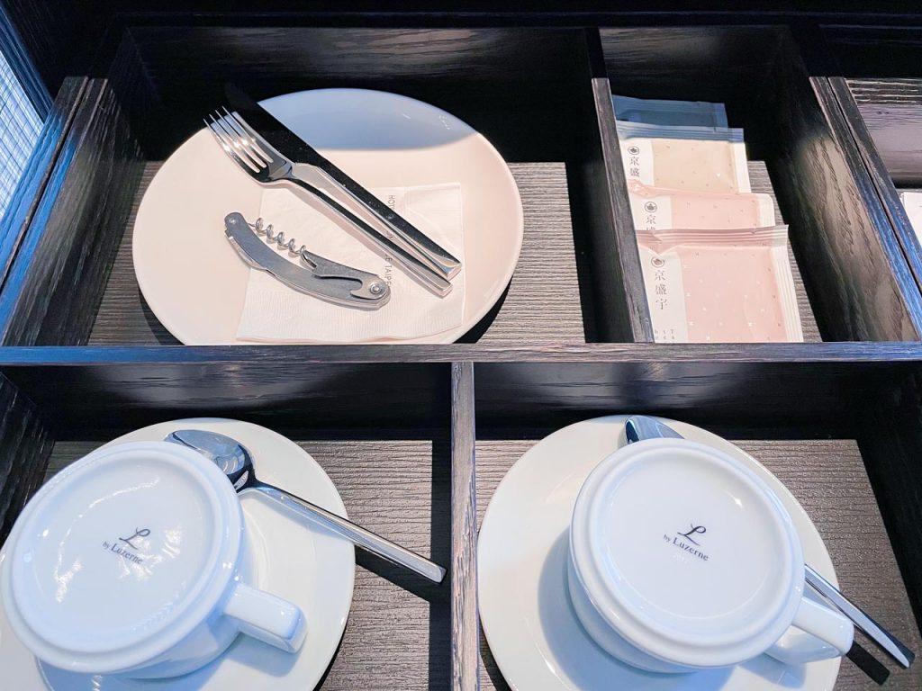 台北時代寓所 - 客房內餐具