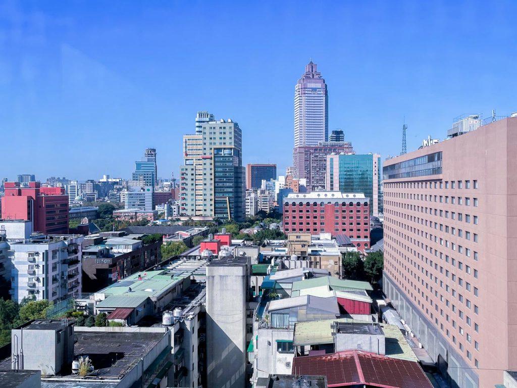 台北時代寓所 - 窗外