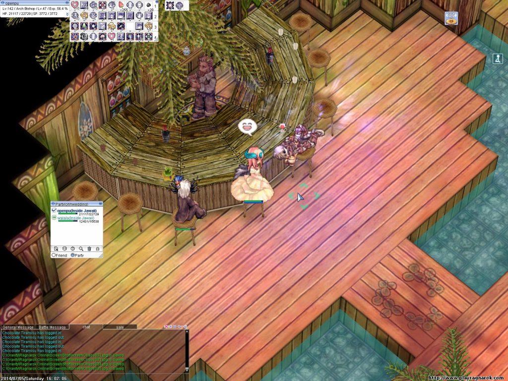RO仙境傳說 - 在遊戲中也和遷就結婚