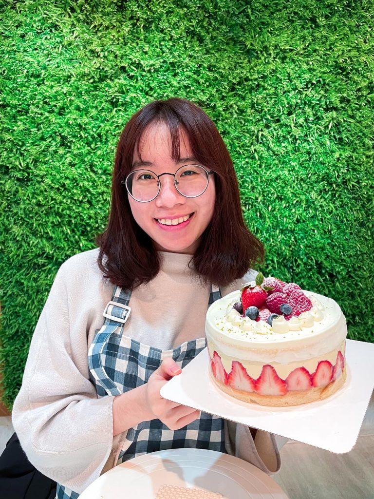 花貓蛋糕實驗室-法式芙蓮蛋糕