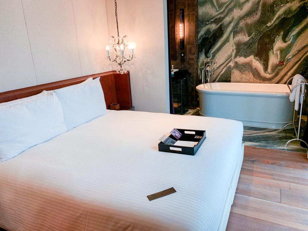 賦樂旅居-床