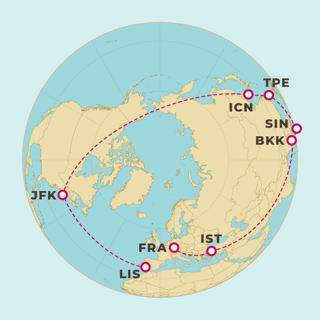 環球路線圖